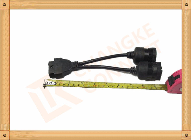 Female To Odb2 Extension Cable 16 Pin Adapter PVC Insulation CK-MFTY001