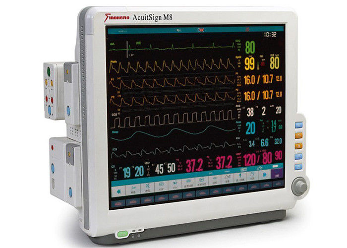 M8 Modular Patient Monitoring System Multi Parameter Patient Monitor Equipment