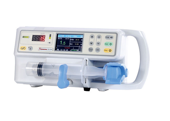 High Accuracy Syringe Infusion Pump Light Weight With Clear LCD Screen